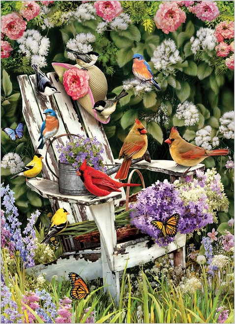 Summer Adirondack Birds - 1000pc Jigsaw Puzzle by Cobble Hill