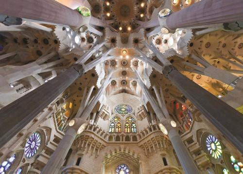 Sagrada Familia, Barcelona - 1000pc Jigsaw Puzzle By Jumbo