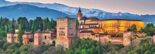 Alhambra, Spain - 1000pc Jigsaw Puzzle By Jumbo