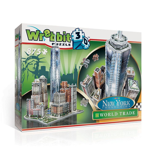 World Trade - 875pc 3D Puzzle by Wrebbit