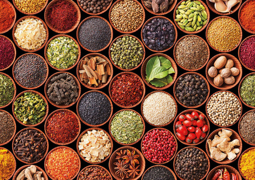 Herbs and Spices - 1500pc Jigsaw Puzzle by Educa