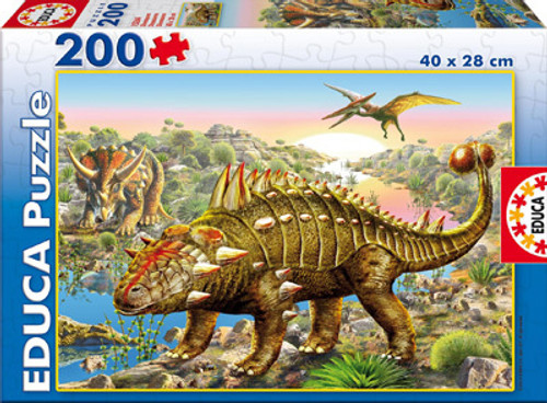 Dinosaurs Jigsaw Puzzles for Kids - Dinosaurs - EDUCA - 200pc