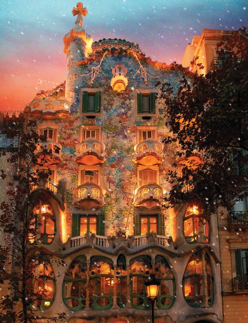 Batlio House - 500pc Jigsaw Puzzle By Springbok