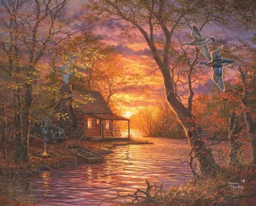 Duck Camp - 1000pc Jigsaw Puzzle By Springbok