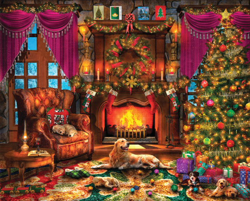 Cozy Christmas - 1000pc Jigsaw Puzzle By Springbok