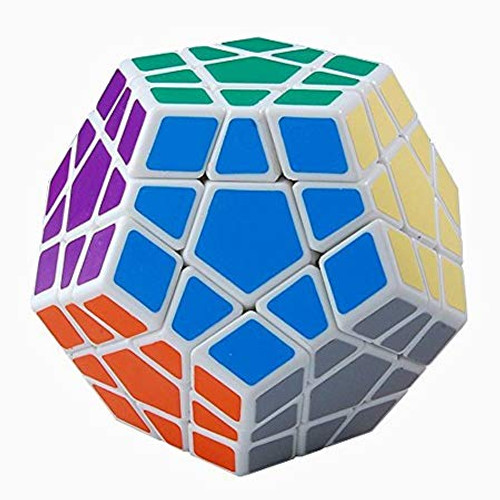 4x4 - Puzzle Cube Dodecahedron: White
