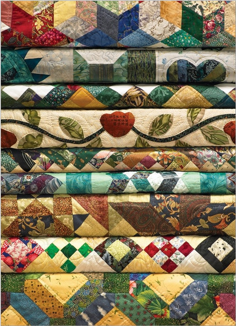 Grandma's Quilts - 1000pc Jigsaw Puzzle By Cobble Hill