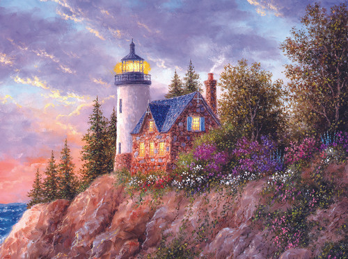 Beacon to the Sea - 1000pc Jigsaw Puzzle By Sunsout