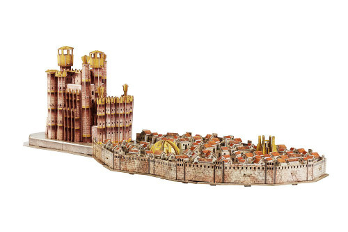 3D Game of Thrones: Kings Landing - 26pc 4D Cityscape Jigsaw Puzzle