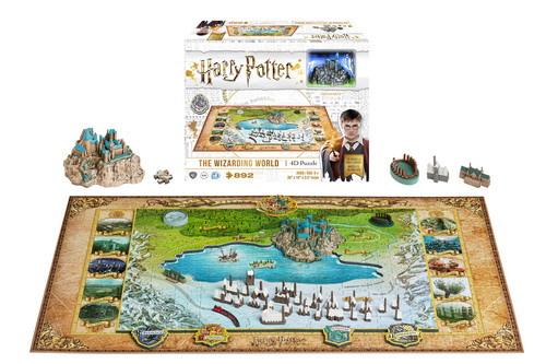 4D Harry Potter - 892pc 4D Cityscape Educational Jigsaw Puzzle