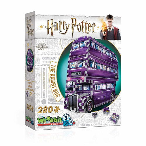 The Knight Bus - 280pc 3D Puzzle by Wrebbit