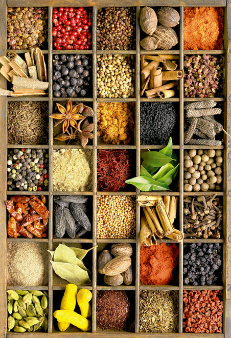 Educa Jigsaw Puzzles - Spices