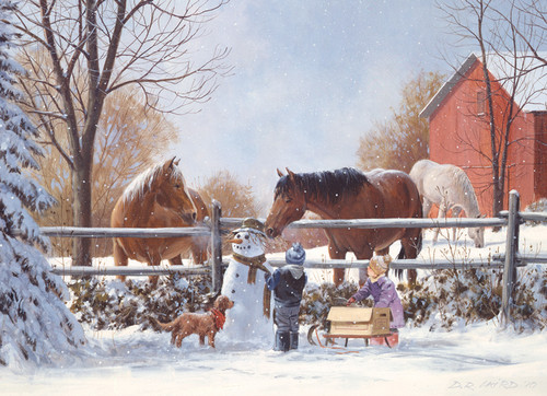 Frosty's Friends - 350pc Family Jigsaw Puzzle by Cobble Hill