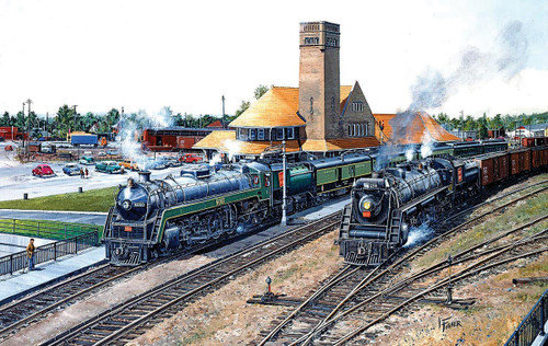 5 Brantford - 550pc Jigsaw Puzzle By Sunsout