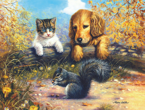 A Grand Stand View - 500pc Jigsaw Puzzle By Sunsout