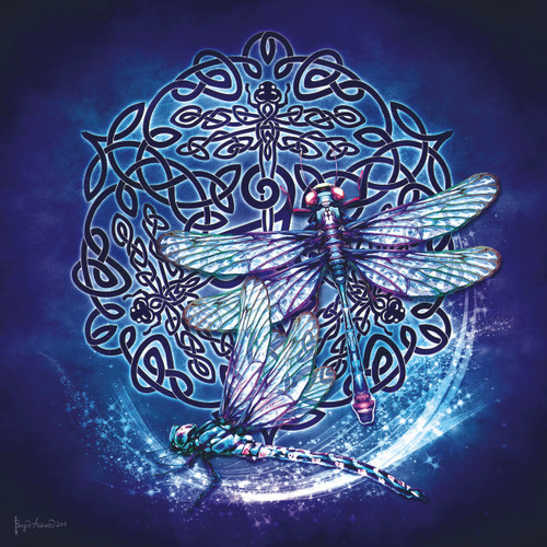 Celtic Dragonfly - 1000pc Jigsaw Puzzle By Sunsout