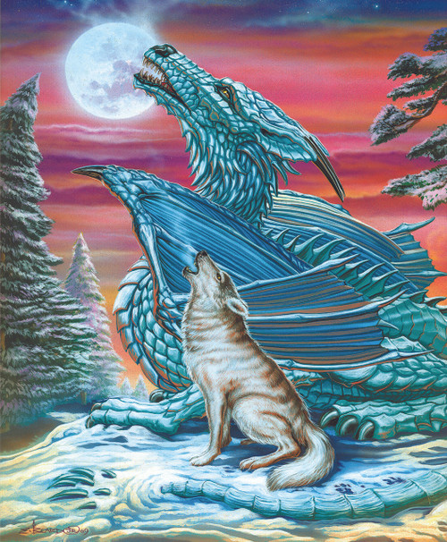 Moon Song - 1000pc Jigsaw Puzzle By Sunsout