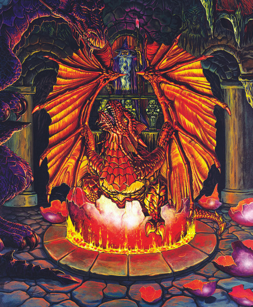 Birth of a Fire Dragon - 1000pc Jigsaw Puzzle By Sunsout