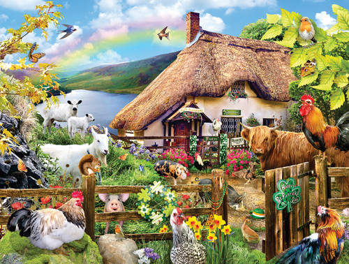 Luck of the Irish - 300pc Large Format Jigsaw Puzzle By Sunsout