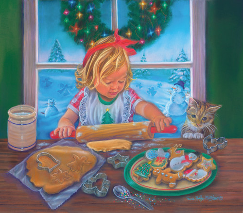 Christmas Cookies - 300pc Jigsaw Puzzle By Sunsout