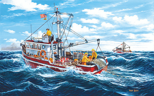 Out of Fort Kodiak - 300pc Jigsaw Puzzle By Sunsout