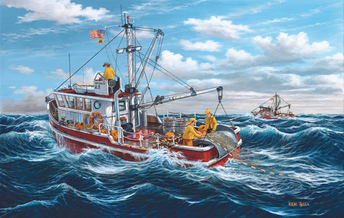Out of Fort Kodiak - 550pc Jigsaw Puzzle By Sunsout