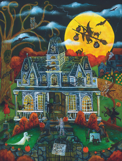Halloween Potions and Tricks - 500pc Jigsaw Puzzle By Sunsout