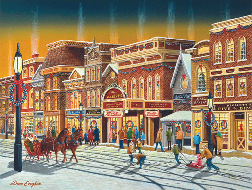 Hometown Weekend - 1000pc Jigsaw Puzzle By Sunsout