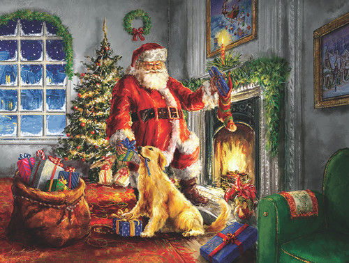 Helping Santa - 300pc Jigsaw Puzzle By Sunsout