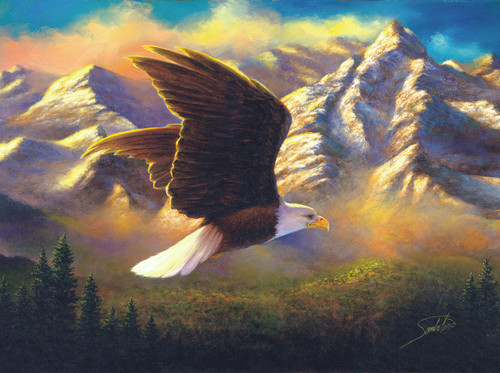 Flying High - 1000pc Jigsaw Puzzle By Sunsout
