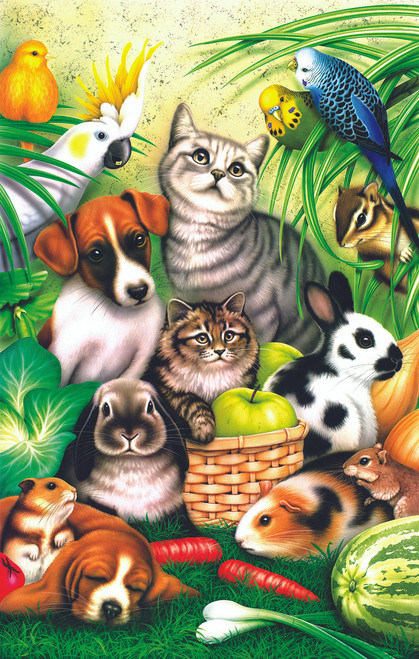 Pet Parade - 100pc Jigsaw Puzzle By Sunsout