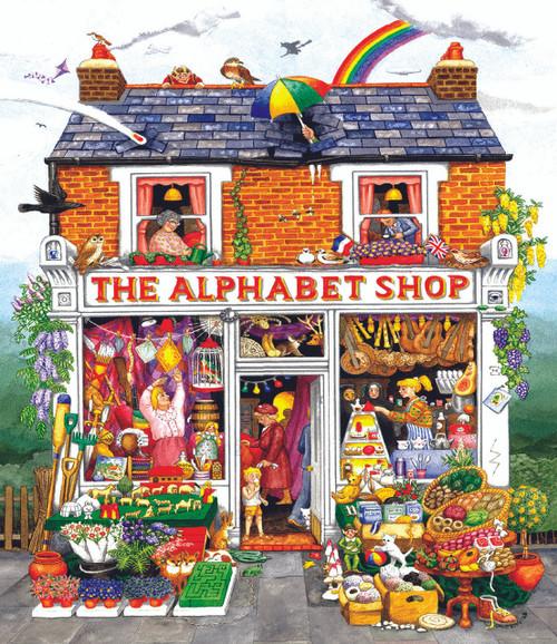 Alphabet House - 200pc Jigsaw Puzzle By Sunsout