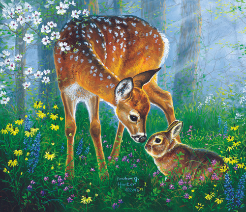 Friendly Forest - 200pc Jigsaw Puzzle By Sunsout