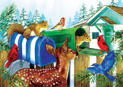 Mailboxes - 15pc Oversized Jigsaw Puzzle By Sunsout