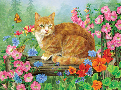 A Perfect Perch - 275pc Easy Handling Jigsaw Puzzle by Cobble Hill