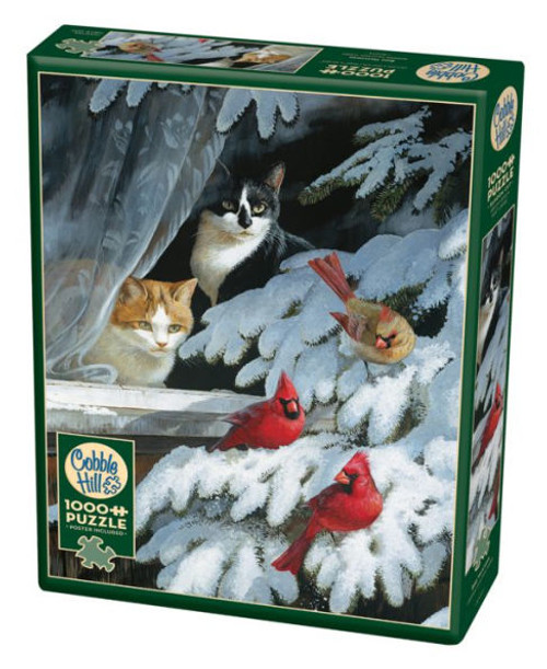 Bird Watchers - 1000pc Jigsaw Puzzle By Cobble Hill