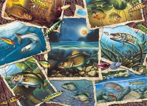 Fish Pics - 1000pc Jigsaw Puzzle By Cobble Hill