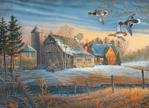 Farmstead Flyby - 500pc Jigsaw Puzzle By Cobble Hill