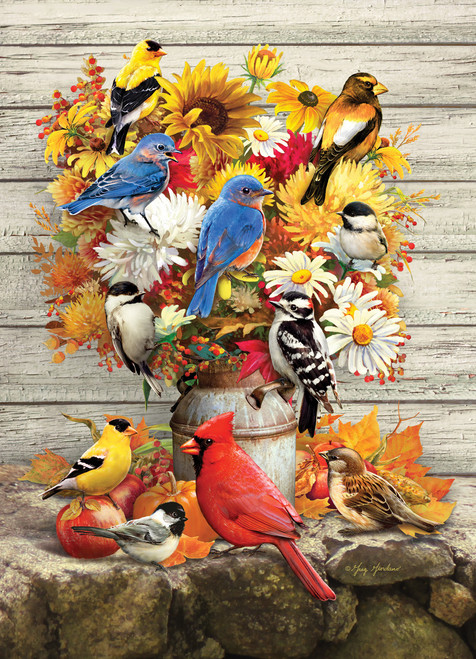 Fall Harvest - 500pc Jigsaw Puzzle By Cobble Hill