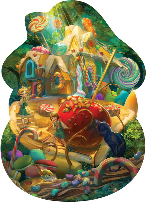 Hansel and Gretel - 24pc Floor Jigsaw Puzzle By Cobble Hill