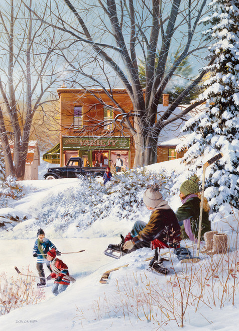 Getting Ready - 1000pc Jigsaw Puzzle By Cobble Hill