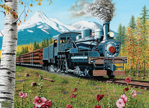 Lumbering Along - 1000pc Jigsaw Puzzle By Cobble Hill