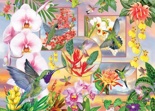 Hummingbird Magic - 500pc Jigsaw Puzzle By Cobble Hill