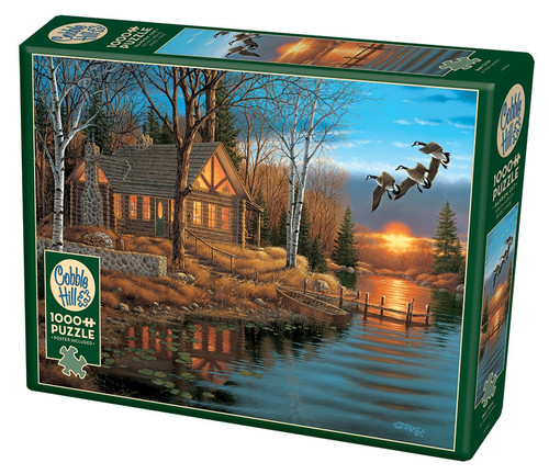 Rest Stop - 1000pc Jigsaw Puzzle By Cobble Hill