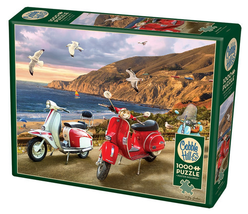 Scooters - 1000pc Jigsaw Puzzle By Cobble Hill