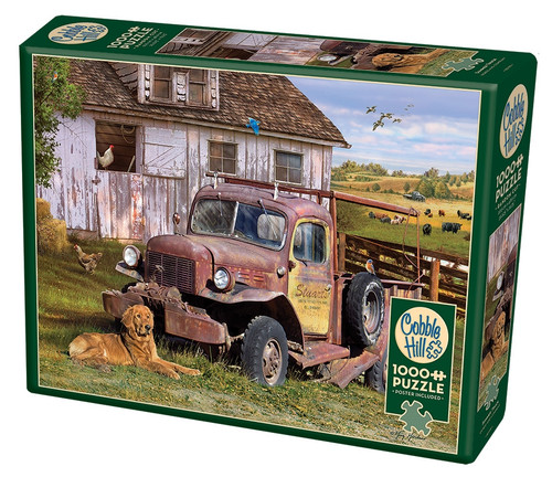 Summer Truck - 1000pc Jigsaw Puzzle By Cobble Hill