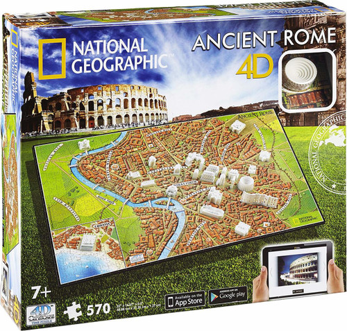 National Geographic Ancient Rome - 570pc Jigsaw Puzzle By 4D Cityscape