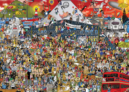 British Music History - 2000pc Jigsaw Puzzle By Heye