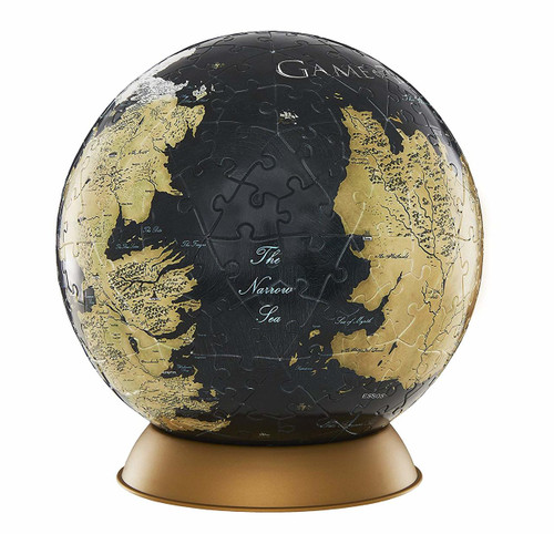 Game of Thrones Globe : 6 inch - 240pc Puzzle by 4D Cityscape
