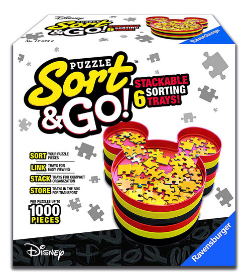 Mickey Sort & Go - Jigsaw Puzzle Accessory By Ravensburger